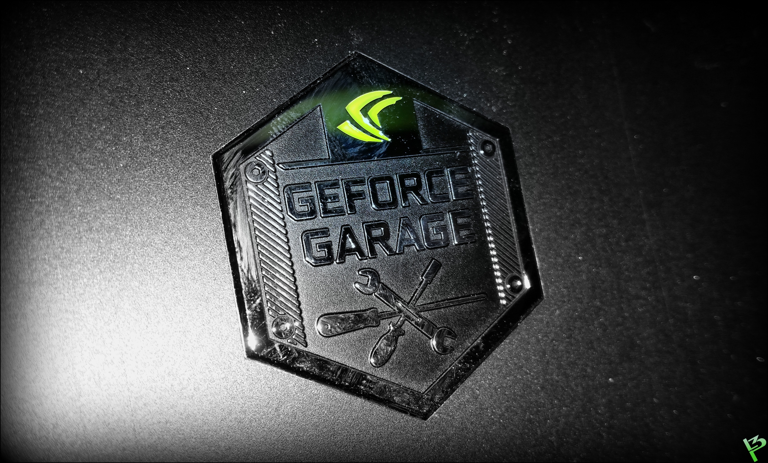 nvidia turkey 900d l3p not to forget the geforce garage badge